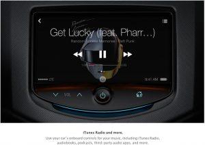 Apple iOS voiture