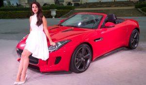 Jaguar F Type Lana del Rey