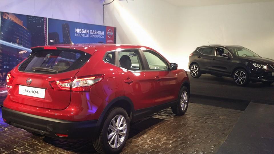 nouveau Nissan Quashqai