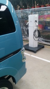 Chargeur Nissan e-nv200
