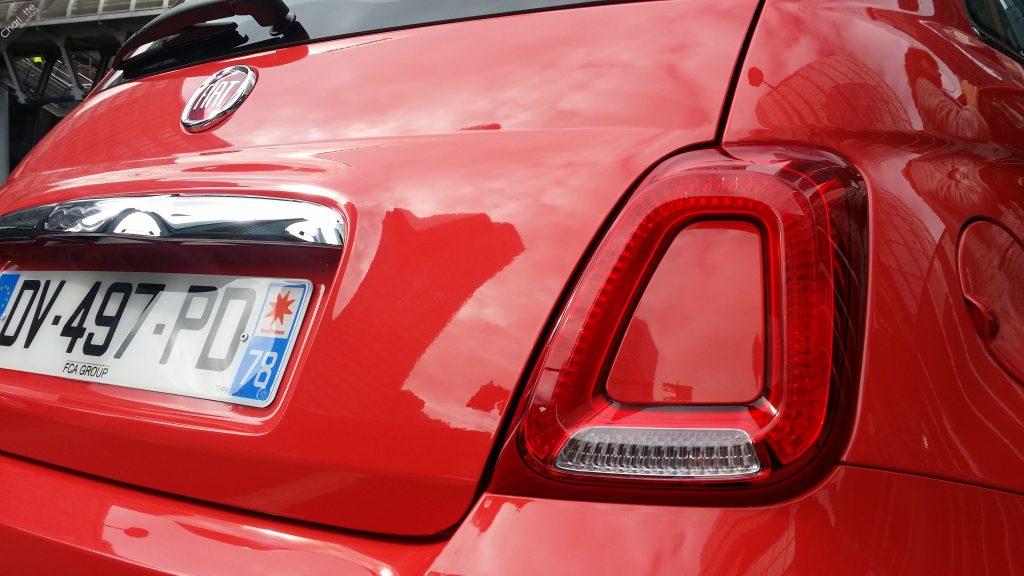 Nouveau feux Fiat 500