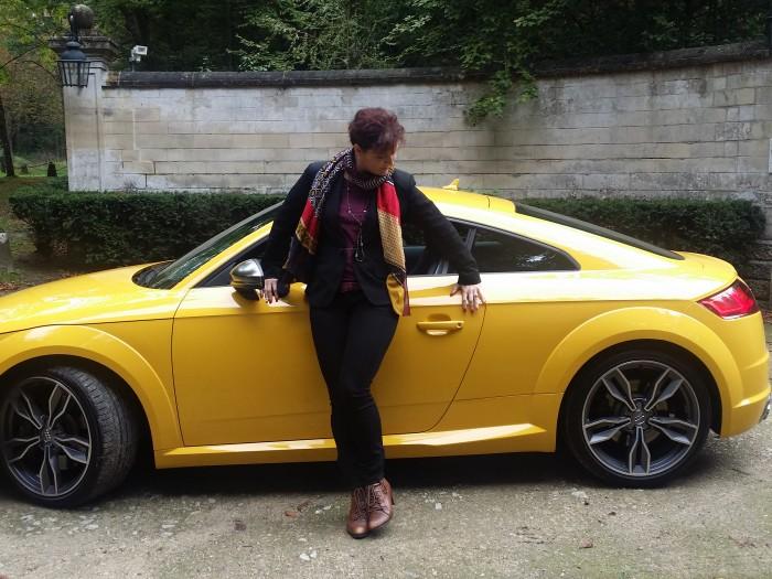 Nouvelle Audi TTS