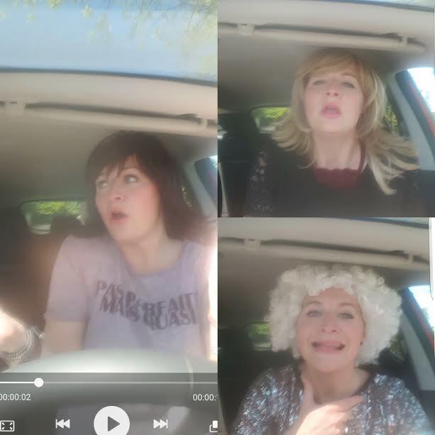 chanter en voiture