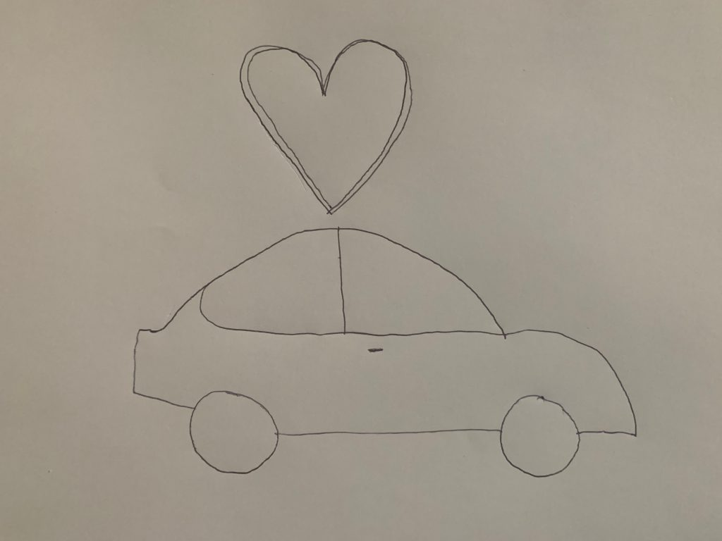 Amour voiture