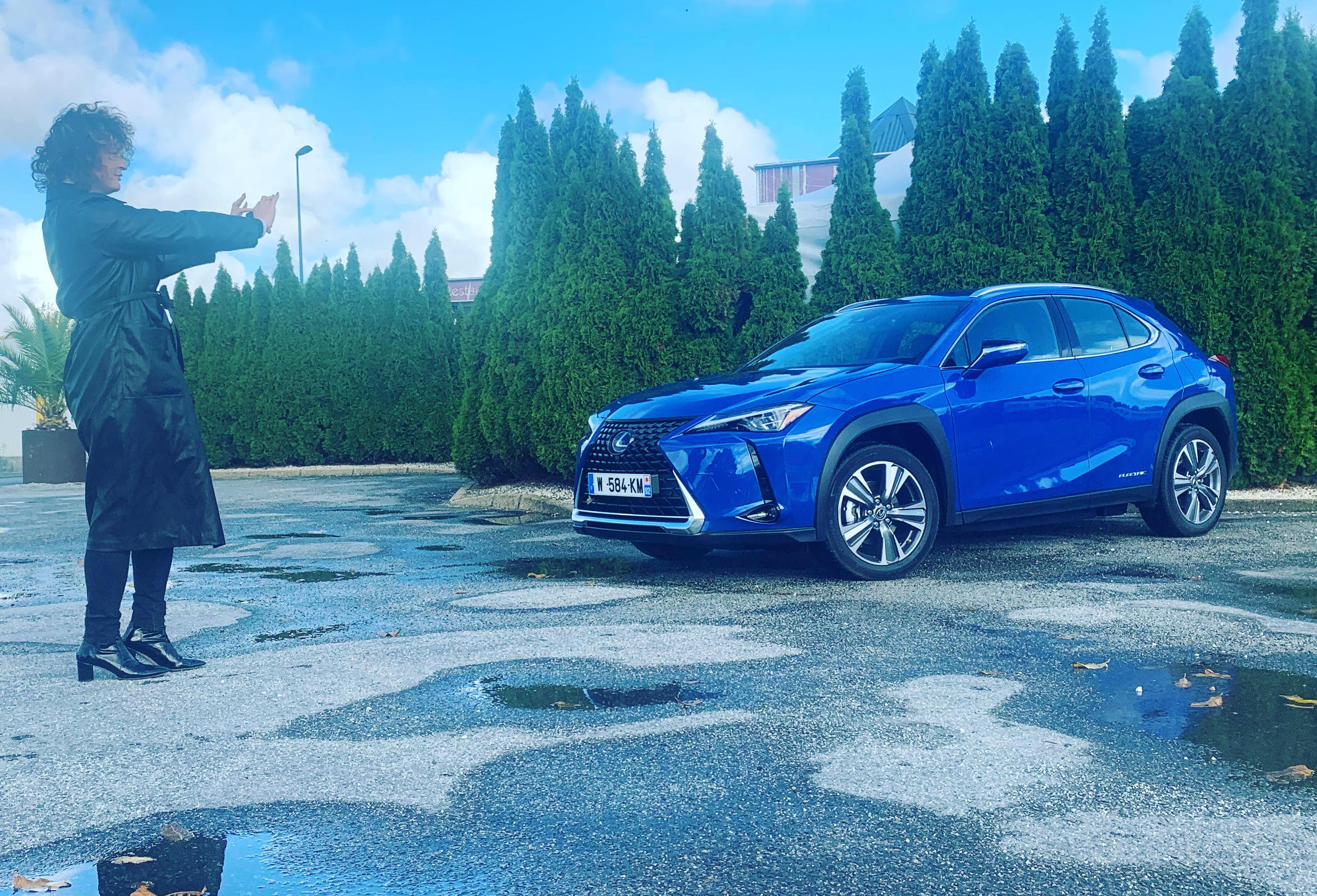 Essai Lexus UX 300 e